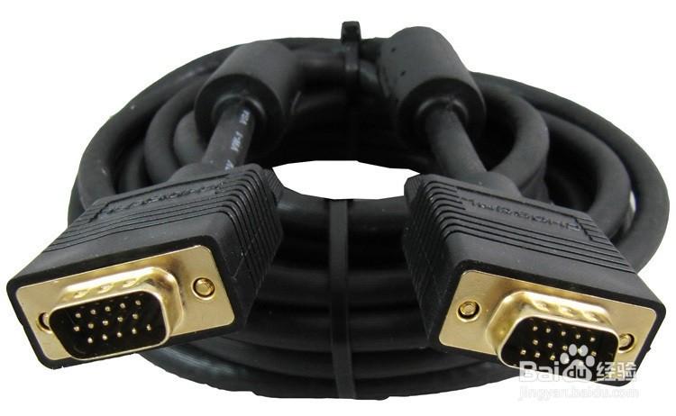 vga接头:针数为15的视频接口,主要用于老式的电脑输出.