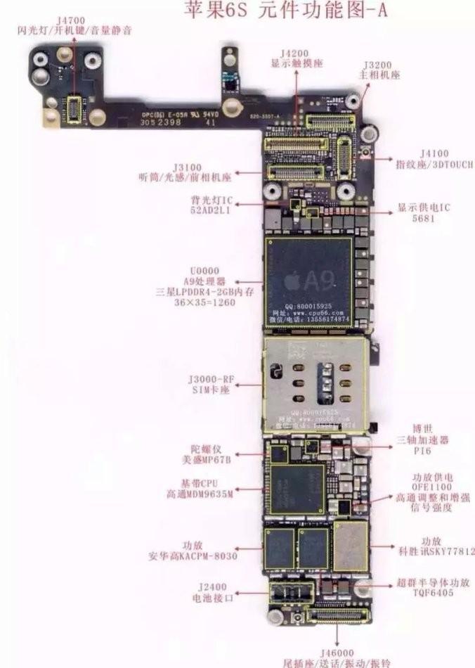 苹果6splus主板烧了,一般都是因为手机进水或者用了高仿充电器导致的